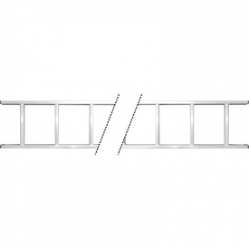 Лестница приставная алюминиевая 10 ступенек Sigma (5034324)