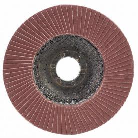 КРУГ ЛЕПЕСТКОВЫЙ ТОРЦЕВОЙ Т27 (ПРЯМОЙ) диаметр125ММ ЗЕРНО 180 SIGMA (9172161)