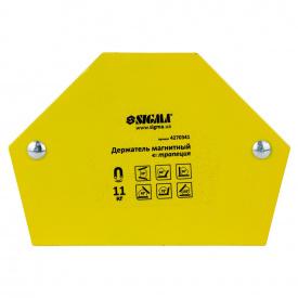 Магнит для сварки трапеция 11кг 78×32×47×28.5мм (30,45,60,90,75,135°) SIGMA (4270341)