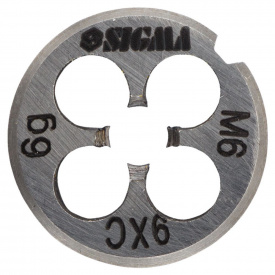 Плашка М6 × 1,0 мм SIGMA (1604171)