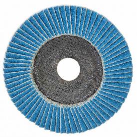 КРУГ ЛЕПЕСТКОВЫЙ ТОРЦЕВОЙ Т29 (КОНИЧЕСКИЙ) ZA диаметр125ММ P40 SIGMA (9173521)