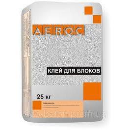 Клей для газобетона АЕРОК 25 кг