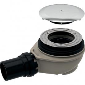 Сифон для душевых поддонов Geberit d90 с крышкой хром глянец 150.551.21.1