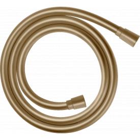 Isiflex Шланг душевой 160 см Brushed Bronze HANSGROHE 28276140