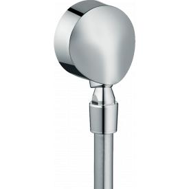 HG Fixfit E Шланговое подсоединение с клапаном хром HANSGROHE 27505000