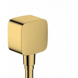 FIXFIT шланговое подсоединение цвет покрытия полированное золото HANSGROHE 26457990