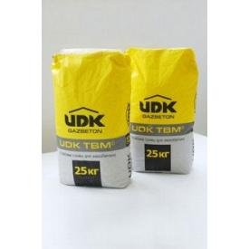 Клей для газобетона UDK TBM 25 кг