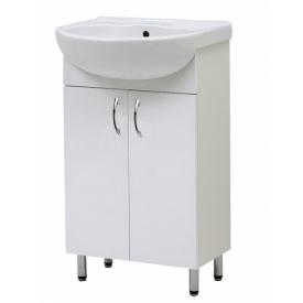 Тумба Аква 55 с умывальником в ванную комнату