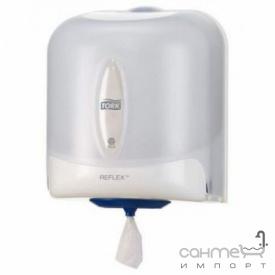 Диспенсер для полотенец с центральной вытяжкой для общественных санузлов Tork Tork Reflex 473140 белый