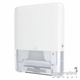 Настенный диспенсер листовых полотенец с непрерывной подачей Tork PeakServe Mini 552550 белый