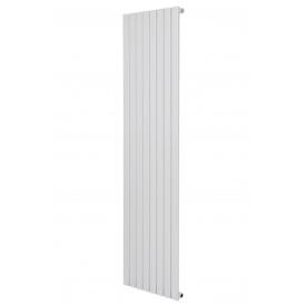 Вертикальный дизайнерский радиатор отопления ТМ ARTTIDESIGN Terni 8/1800 белый матовый