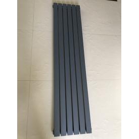 Вертикальный дизайнерский радиатор отопления ТМ ARTTIDESIGN Terni 6/1800 серый