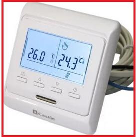 Терморегулятор программируемый Castle Е53,716 белый