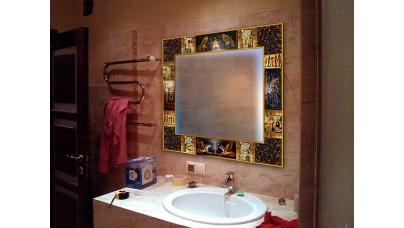 Зеркало для ванной комнаты — мастер-класс