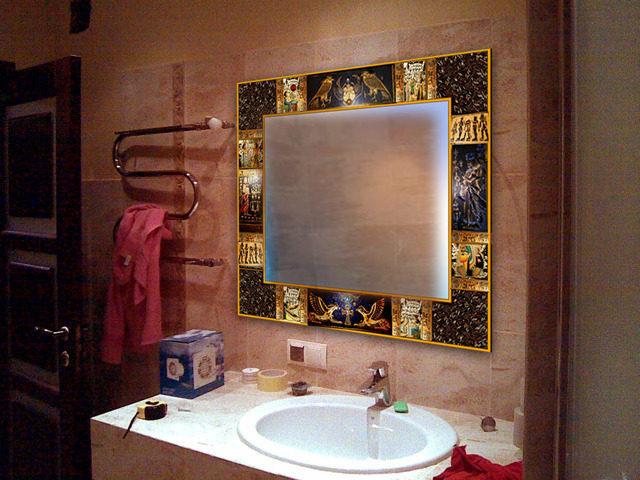 Дзеркало для ванної кімнати — майстер-клас
