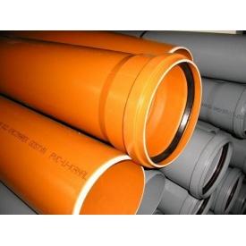 Труба пластикова каналізаційна 100 мм