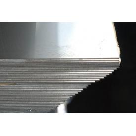 Лист нержавіючий 12х17 дзеркальний PVC 0,4*1250*2500 мм