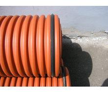 Труба гофрированная K2-KAN для наружной канализации 500 мм 6 м