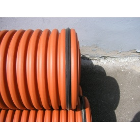 Труба гофрована K2-KAN для зовнішньої каналізації 500 мм 6 м