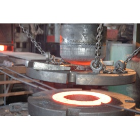 Производство точечного стального фланца