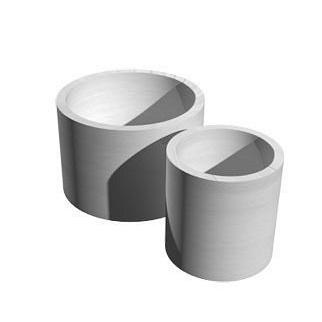 Кольцо для колодца КС 15.6 1680х1500х590 мм