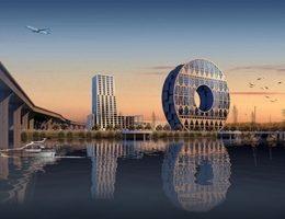 В Китае построят здание в виде монеты. ФОТО