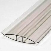 Поликарбонатный профиль НР-10 10 мм прозрачный