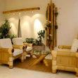 Бамбук та бамбукові шпалери в інтер'єрі