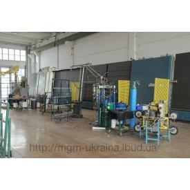 Стеклопакетная линия Lisec 2700*3500 мм с роботом герметизации