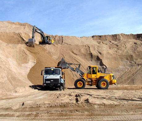 Пісок у будівництві: різновиди та сфера застосування