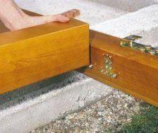 Кріплення для дерев'яних конструкцій
