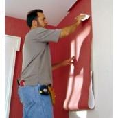 Обклеювання стін вініловими шпалерами