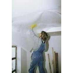 Оклейка потолков стеклосеткой