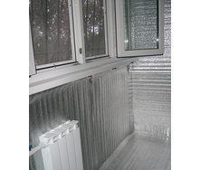 Утепление балкона с помощью пленки Гидробарьер