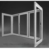 Розсувний балкон з алюмінієвого профілю