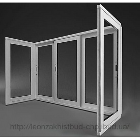 Раздвижной балкон из алюминиевого профиля