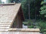 Деревянная крыша дома