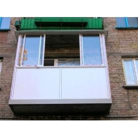 Раздвижной алюминиевый балкон Alutech под заказ