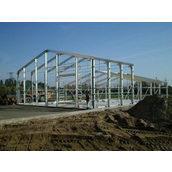 Будівництво швидкомонтованої будівлі БМЗ
