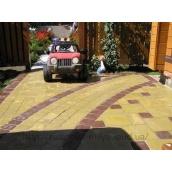 Тротуарная плитка Ретро с имитацией натурального камня