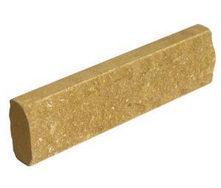 Кирпич лицевой Скала тонкий Литос 250*220*65 мм желтый