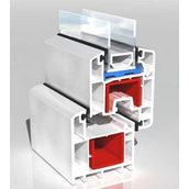 Армуючий профіль для ПВХ конструкцій 30х30х30 мм