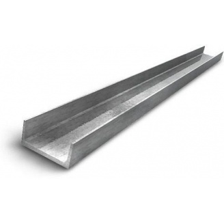 Швеллер горячекатаный стальной 14 12 м