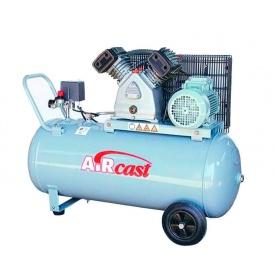 Компресор поршневий повітряний Remeza Aircast 100.V80 3 кВт