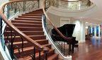 Лестница деревянная криволинейная