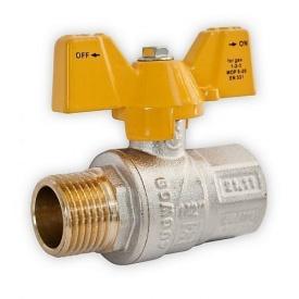Шаровый усиленный кран для газа Santan НВ ЖБ 1/2''