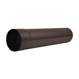Труба водостічна АКВАСИСТЕМ сталева 100 мм 4 м