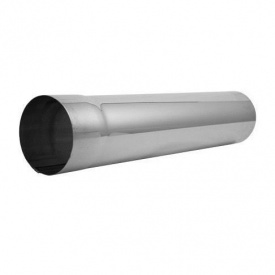 Труба водостічна АКВАСИСТЕМ цинк-титан 100 мм 4 м