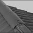 Конек крыши из натуральной черепицы