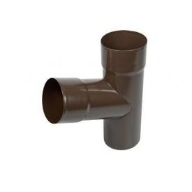 Трійник АКВАСИСТЕМ 90 мм металевий